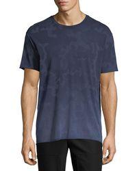 ATM - Camouflage-print Crewneck T-shirt - Lyst