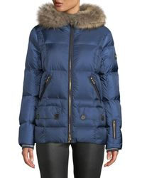 Bogner - Miri Puffer Coat W/ Removable Fur Trim - Lyst