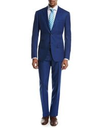 Kiton | Textured Solid Two-piece Suit | Lyst