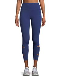 Lanston - Liam Slit Performance Leggings - Lyst