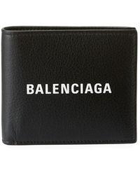 Balenciaga - Men's Baltimore Shopping Square Leather Wallet - Lyst