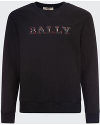Bally Men's Logo Fleece Sweatshirt - Black