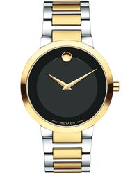 Movado - 39.2mm Modern Classic Watch - Lyst