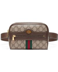 0abd7722282 Gucci - Small Ophidia Gg Supreme Canvas Belt Bag - Lyst