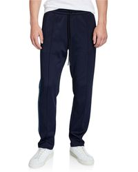 Vince Men's Elevated Track Trousers - Blue