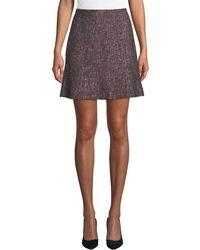 Club Monaco - Alvara Tweed Short Skirt - Lyst