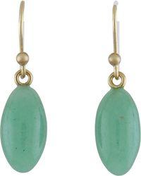Ted Muehling - Green Aventurine Berry Earrings - Lyst