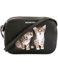 Balenciaga - Everyday Camera Xs Kittens Crossbody Bag - Lyst