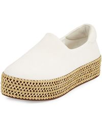 Opening Ceremony - Cici Knit Platform Trainer - Lyst