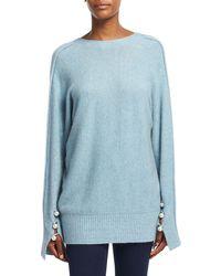 3.1 Phillip Lim - Long-sleeve V-back Pullover Sweater - Lyst