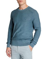 Rag & Bone - Men's Lance Dagger Embroidered Sweatshirt - Lyst
