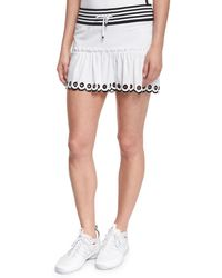 Monreal London - Ombre-trim Sport Skirt - Lyst