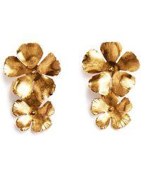 Jennifer Behr - Chloe Statement Flower Earrings - Lyst