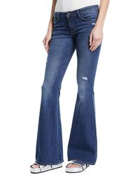 Hudson Jeans - Mia Low-rise Flared-leg Jeans - Lyst