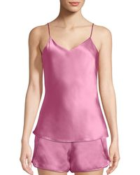 Josie Natori - Key Essentials Silk Camisole - Lyst