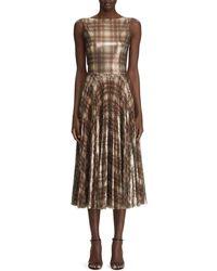 53c15862 Ralph Lauren Collection Georgia Baroque Silk Brocade Sheath Dress - Lyst
