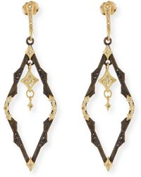 Armenta - Old World Dangling Crivelli Earrings With Diamonds - Lyst