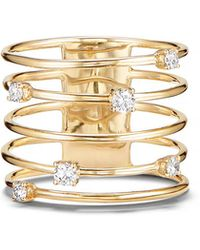Lana Jewelry - 14k Gold Diamond Wire Crown Ring - Lyst