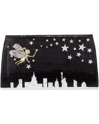 Nancy Gonzalez - New York City Slicer Python Clutch Bag - Lyst