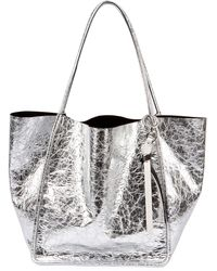 Proenza Schouler - Extra-large Crackled Metallic Tote Bag - Lyst