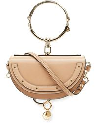 Chloé | Nile Small Patent Bracelet Minaudiere Bag | Lyst