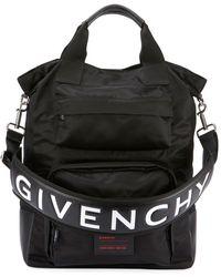 Givenchy Men's Ut3 Nylon Tote Bag - Black