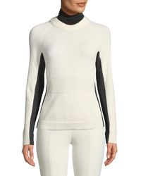 Moncler Grenoble - Colorblock Knitted Turtleneck Sweater - Lyst