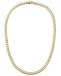 Lana Jewelry Casino 14k Yellow Gold Thin Chain Choker - Metallic