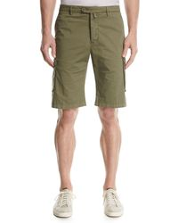 Kiton - Twill Cargo Shorts - Lyst