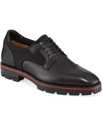 Christian Louboutin - Men's Mika Sky Leather Lace Up - Lyst