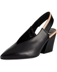 Pierre Hardy - Alpha Two-tone Leather Pumps - Lyst