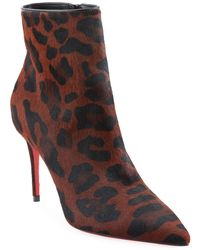 the best attitude de4d7 5ba92 Christian Louboutin Leather So Kate Red Sole Booties in ...