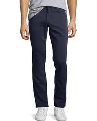 J Brand - Kane Slim-fit Luxe Terry Jeans Keckley - Lyst