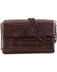 Nancy Gonzalez - Soft Double-chain Medium Shoulder Bag - Lyst