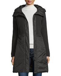 Post Card - Quilted 3-layer Hooded Parka - Lyst