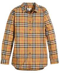0a77a8e86e529b Burberry Shirts - Men's Casual, Formal & Denim Shirts - Lyst