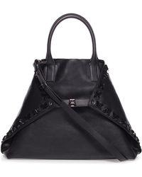 Akris - Ai Magnets Medium Bratescu Leather Top-handle Tote Bag - Lyst