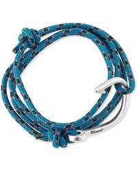 Miansai - Hook Rope Bracelet - Lyst
