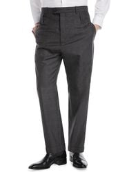 Balenciaga | High-rise Double Belt-loop Trousers | Lyst