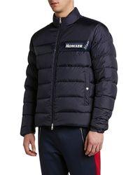 Moncler - Men's Servieres Zip-up Puffer Jacket - Lyst