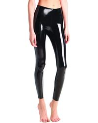 Commando - Classic Patent Faux-leather Firming Leggings - Lyst