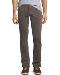 PAIGE Mens Federal Slim Pants in Vintage Acorn