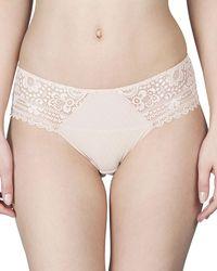 Maison Lejaby - Hanae Lace-trim Bikini Briefs - Lyst