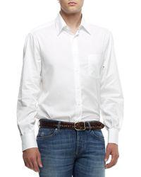 Brunello Cucinelli Bd Basic Shirt - White