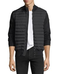 Moncler - Maglia Tricot Zip-front Cardigan - Lyst