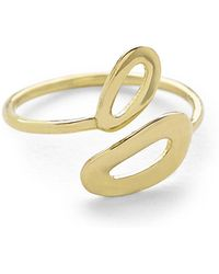 Ippolita - Cherish Mini Mid-finger Open Ring - Lyst