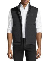 Moncler - Matte Merak Vest W/ Shiny Lining - Lyst