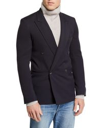 The Row - Men's Julian Hopsack Double-breasted Jacket - Lyst