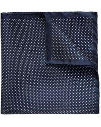 Eton of Sweden - Men's Polka Dot Pocket Square - Lyst