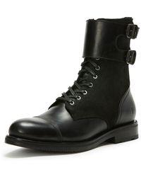 Frye - Men's Officer Cuff Combo Boot - Lyst